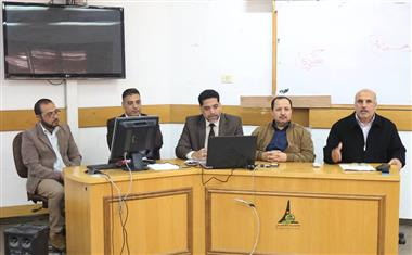 Al-Aqsa University Holds a Workshop Entitled:
