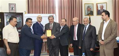 Al-Aqsa University Signs a Memorandum with Reach Education Fund to Sup