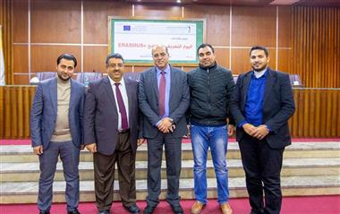 Al-Aqsa University Participated in the Information Day of Erasmus  Projects