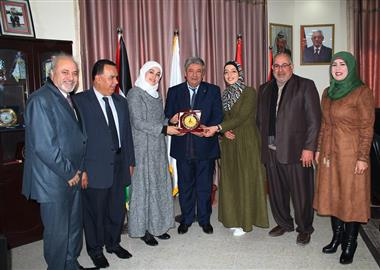 Al-Aqsa University is Proud to Place the First Position Among universities in the Gaza Strip in the