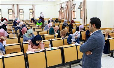 Al-Aqsa University held IELTS test for the purpose of the students' mobility within Erasmus plus ICM