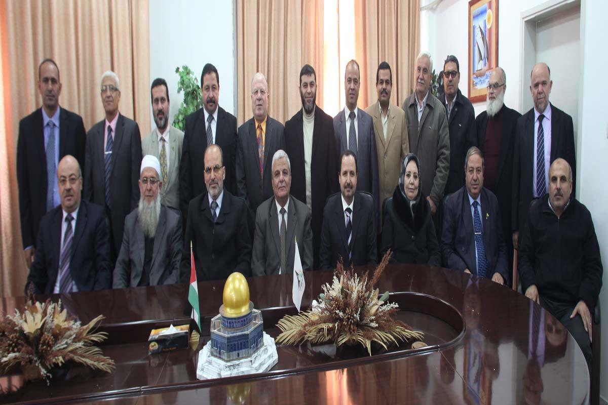 أعضاء مجلس الجامعة