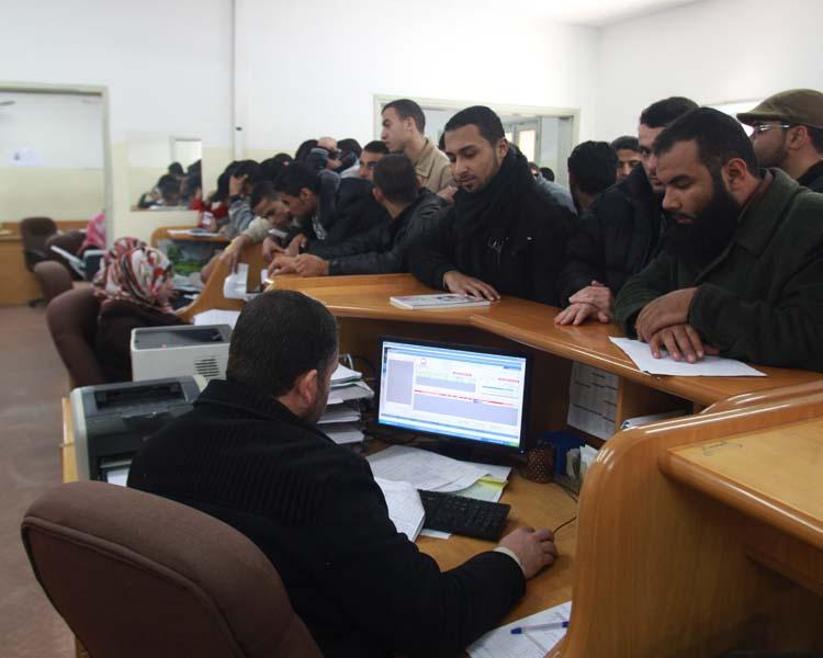 قسم الخريجين ( الحرازين غزة )