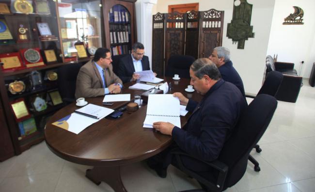 زيارة وفد الجامعة للإغاثة الإسلامية