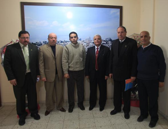 زيارة وفد الجامعة لمؤسسة يارديم التركية