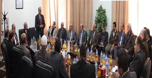 جامعة الأقصى تكرم معالي الأستاذ الدكتور عـلــــــي زيدان أبو زهـــــري