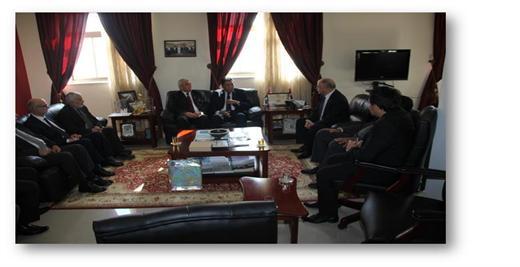 رئيس الجامعة يلتقي بالسفير الإندونيسي لدي السلطة، ويشارك في اجتماع إتحاد الجامعات العربية بالأردن